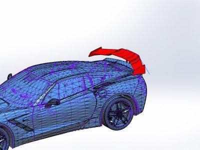 3D modeliranje od karbona